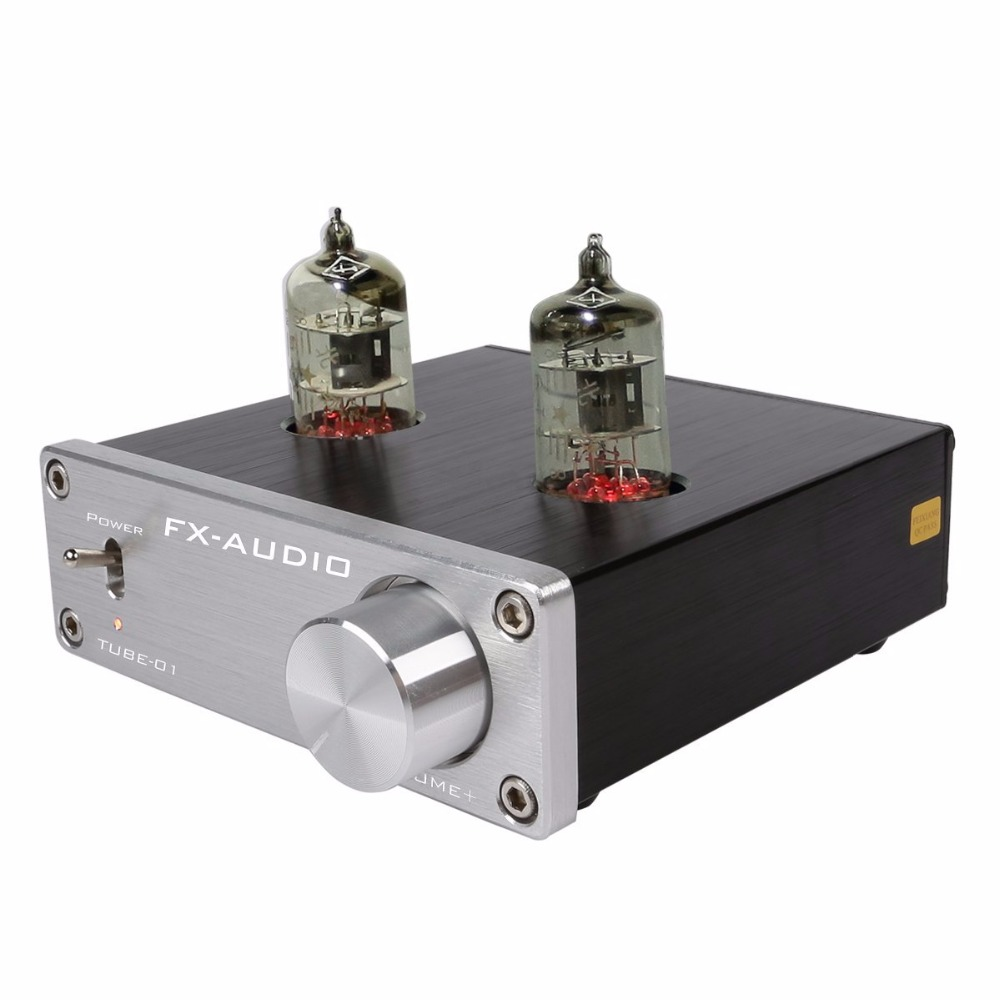 Feixiang FX-AUDIO TUBE-01 DC12V 1A Bile Preamp Tube Amplifier Buffer 6J1 HIFI Audio Preamplifier Preamplificador Dilvpoetry Amps ifi audio micro itube tube buffer stage enhancer musicality buffer