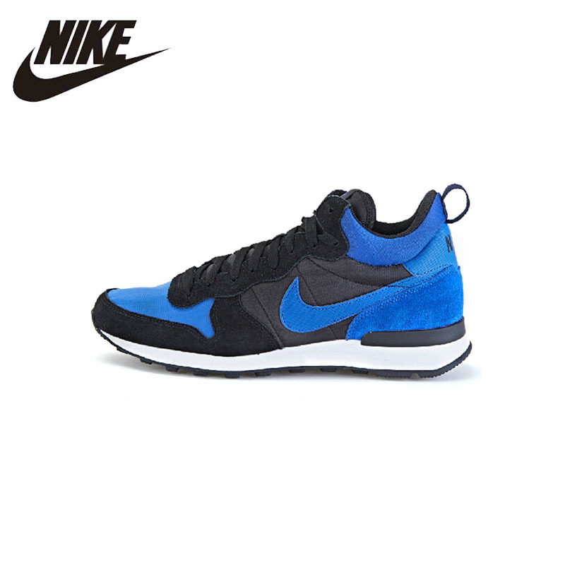 NIKE Original Mens New Arrival Nike Running Shoes Winter Leisure Time Restore Ancient Ways High Help Skate #682844-404 nike original new arrival mens skateboarding shoes breathable comfortable for men 902807 001