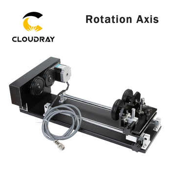 Cloudray Rotary Engraving Attachment with Rollers Stepper Motors for Laser Engraving Cutting Machine Model A - DISCOUNT ITEM  5% OFF All Category