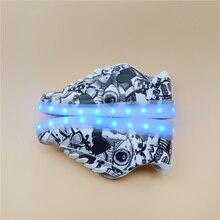 Recargable de Luz LED para arriba Los Zapatos Ocasionales Unisex, Eur 32-44 11 tipo de led luminoso zapatos de los hombres, intermitente Fluorescente zapatos superestrella