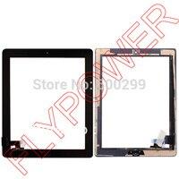 לipad2 עבור iPad 2 מסך מגע digitizer + דבק דבק עם עצרת לחצן בית על ידי משלוח חינם; שחור; 100% חדש