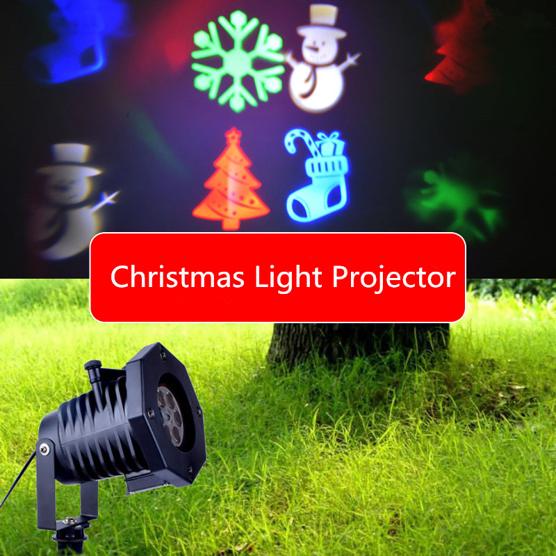 12 Patterns Christmas Laser Snowflake Projector LED Stage Light Romantic Garden Lawn Landscape Lamps for Home Decoration newyear waterproof led snowflake laser projector lamps stage light christmas party garden home decoration outdoor