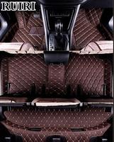 Good mats! Custom special floor mats for Volkswagen Touran 7 Seats 2014 2004 waterproof carpets for Touran 2007,Free shipping