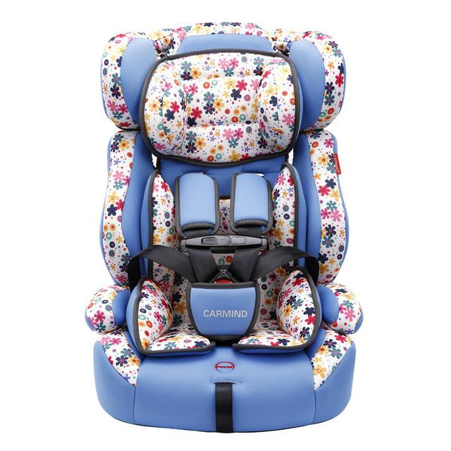 El útil hermosa niños del asiento de coche de seguridad en 9-12 años de edad