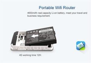 Image 5 - KuWfi débloqué 4G routeur sans fil poche LTE WiFi Modem 4100 mAh batterie externe routeur de voyage en plein air avec fente pour carte Sim