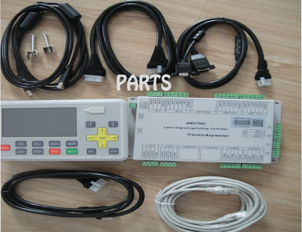 DSP controller  AWC708 Laser Engraving and Cutting Control System for Co2 Laser Machine  цены