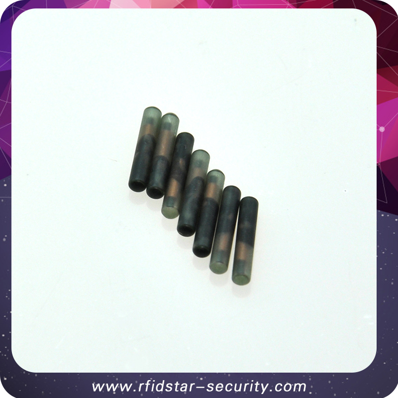 Free shipping 20PCS/Lot 134.2KHz 2.12*12mmFDX-B Animal RFID microchip for Animal Identification цена