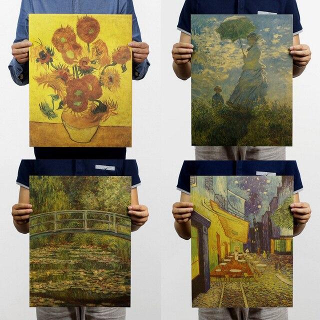€ 1.4 18% de réduction|Claude Monet/van Gogh/