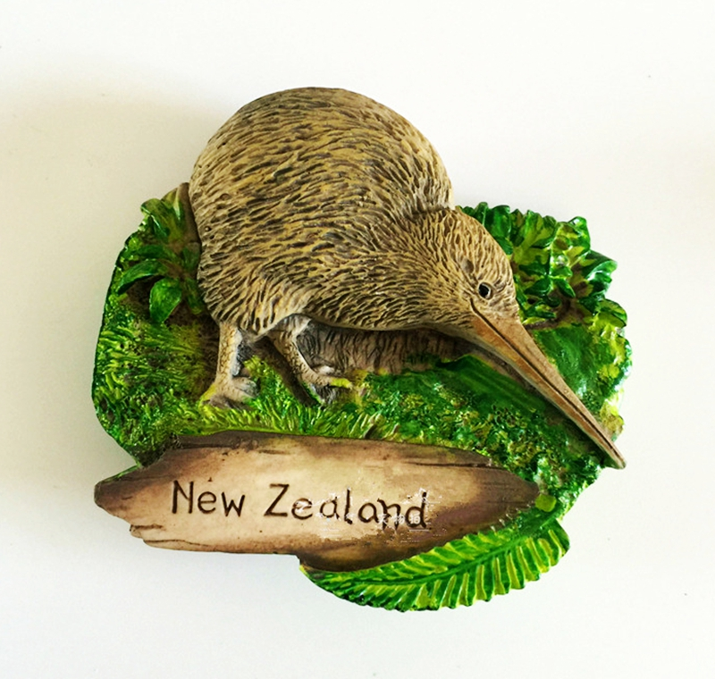 New Zealand Victoria Bird 3D Fridge Magnets Creative World