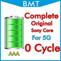 DHL UPS 50pcs/lot Complete Original Genuine 0 zero cycle Battery for iPhone 5 5G 1440mAh 3.7V MFR For Sony Core BMTI5G0BTAAA