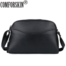 COMFORSKIN Brand Hot Fashion Cross-body Bags For Women New Arrivals Cowhide Messenger Bag Guaranteed Leather