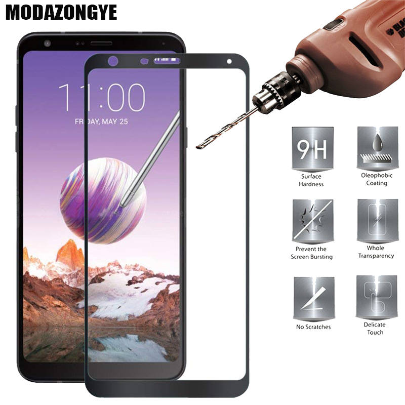 For Screen Protector LG Stylo 4 Tempered Glass For LG Q Stylo 4 LG Stylo 4 Stylo4 LM-Q710MS Glass Protective Film Full Cover