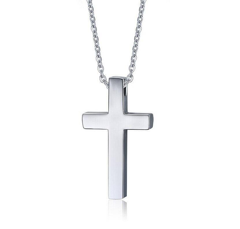 Popular Plain Cross Necklaces for Men-Buy Cheap Plain