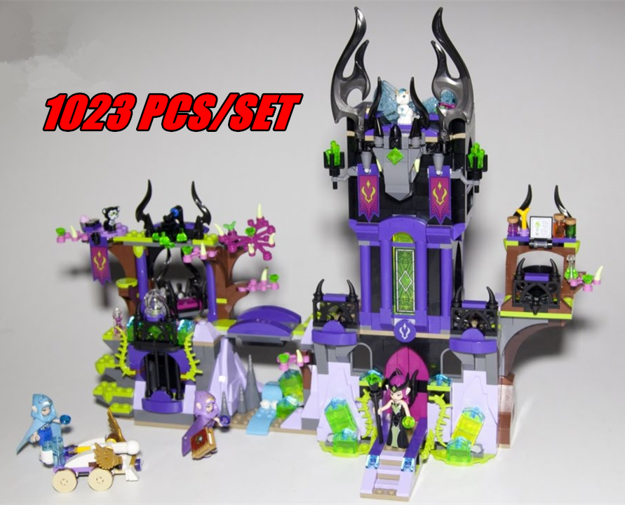 10551 Elves Ragana's Magic Shadow Castle model building Blocks Bricks Toys girls Toys Compatible with lego gift kid set girls umbra вешалка настенная горизонтальная flip