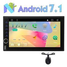 Eincar Octa Core Android 7.1 Bluetooth Estéreo Del Coche 2din Autoradio Car Auto Radio GPS Apoyo Rápido de arranque/4G/3G WIFI/SWC/USB SD/OBD