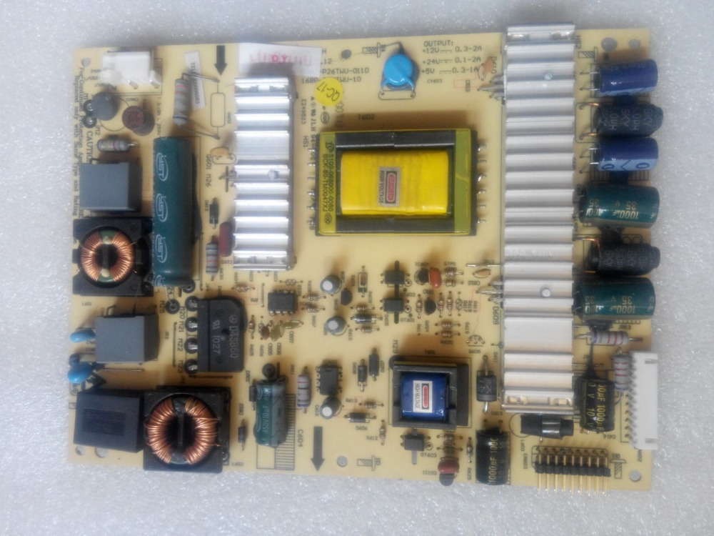 5800-P26TWU-0110 168P-P26TWU-10 Original LED Power Supply 5800 p42tlk 0160 168p p42tlk 15 original led power board