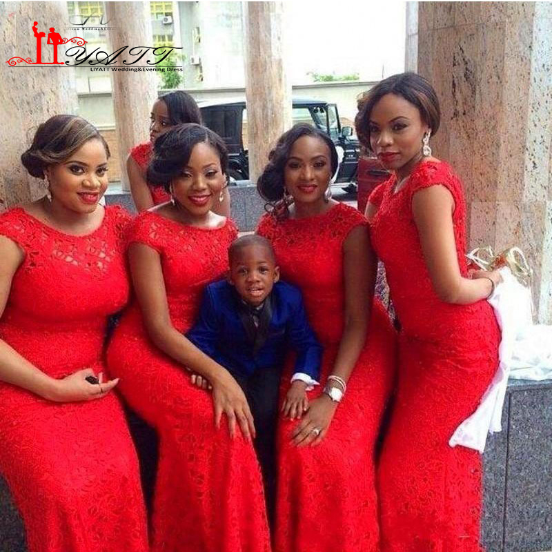 african bridesmaid dress styles