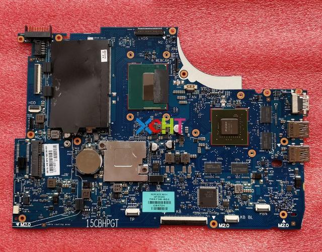 HP の ENVY 15 Q シリーズ 15T Q100 765736 501 765736 001 765736 601 850 M/4 ギガバイト i7 4702HQ HM87 ノートパソコンのマザーボードマザーボードテスト
