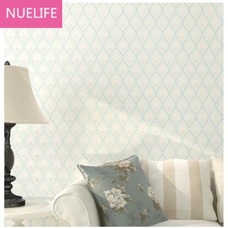 0.53x10m Modern checkered pattern wallpaper living room dining room bedroom children room study room non - woven wallpaper N4