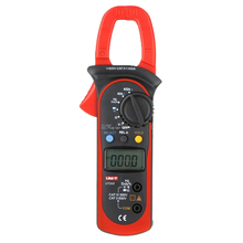 UNI-T UT203 Digital Handheld Clamp Multimeter Tester Meter AC DC Volt Amp Red+Black