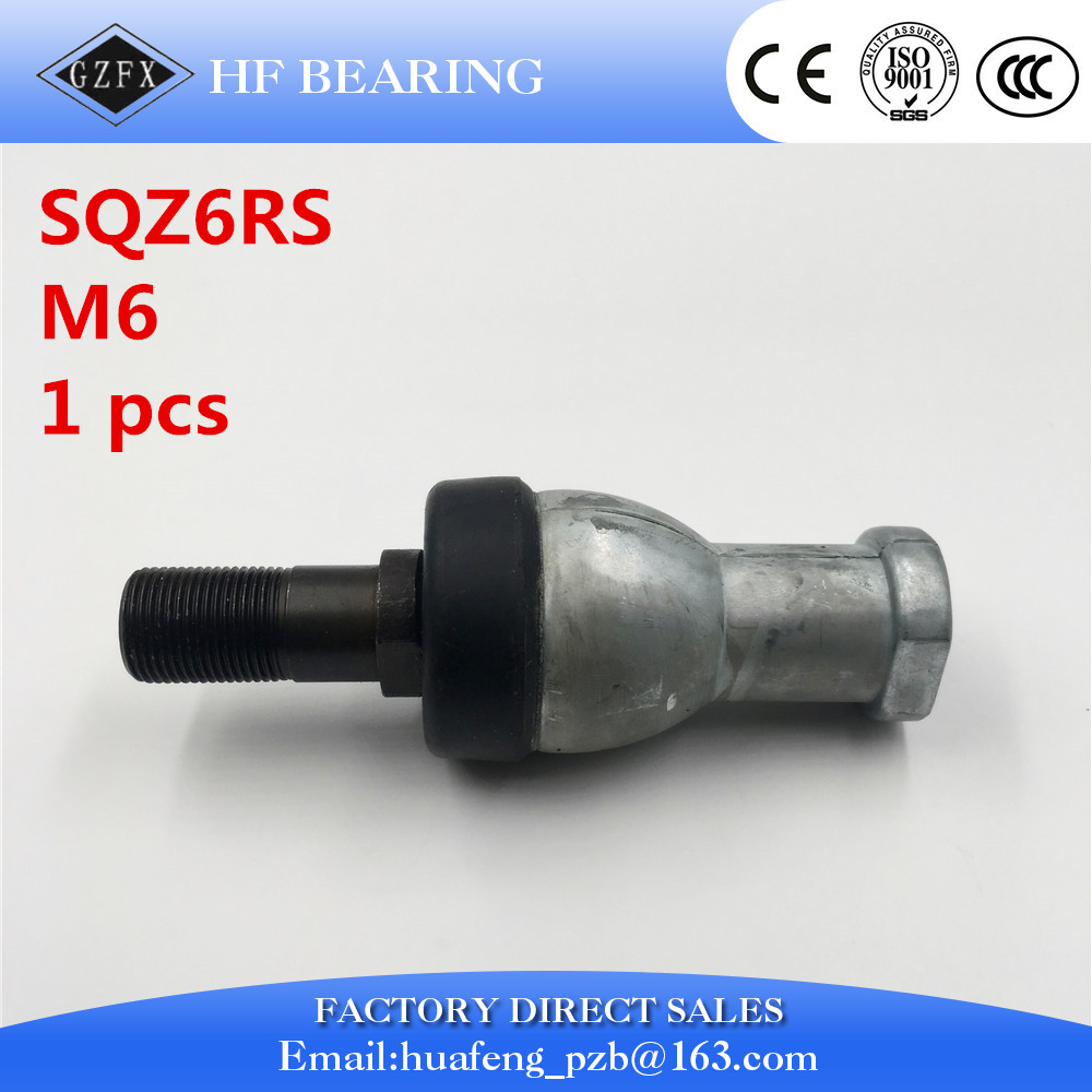 SQZ6 M6 6mm bearing ball joint rod end right hand tie rod end bearing SQZ6RS 1pcs