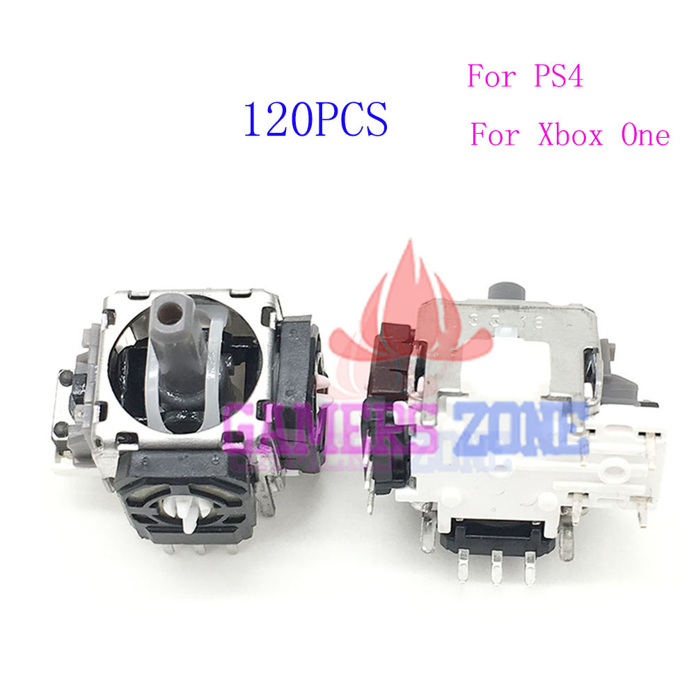 120pcs For Xbox One Analog Joystick 3 Pin Sensor Module Potentiometer for Sony Playstation 4 PS4