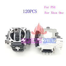 120pcs For Xbox One Analog Joystick 3 Pin Sensor Module Potentiometer for Sony Playstation 4 PS4 Controller