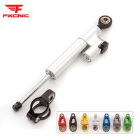 CNC Aluminum Adjustable Motorcycles Steering Stabilize Damper Accessories Set For YAMAHA YZF R6 2006 2017 R1 2009 2012