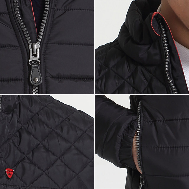 Online Shop Kenntrice Winter Jackets Mens Nylon Quilted Jacket Male