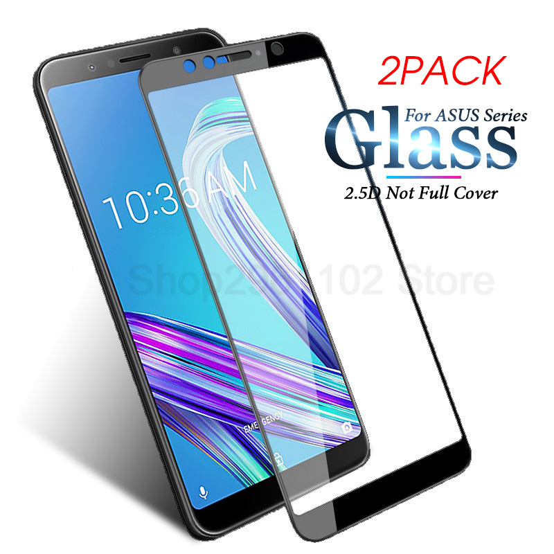 2pcs/lot For ASUS Zenfone 4 Max Zc520kl Case For Zenfone 3 Max Zc553kl Ze552kl Ze520kl 4max Zc554kl Tempered Glass Safety Film