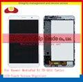 """7.0 """"для Huawei MediaPad X1 7.0 7D-501U Таблетка Полный ЖК-Дисплей С Сенсорным Экраном Панели Дигитайзер Каркасные Полный Черный Белый"""