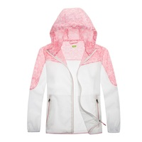 Tectop Outdoor Sport Kids Skin Jackets Light weight Thin Quick dry Breathable Sun protective Children Boys Girls Hiking Coats