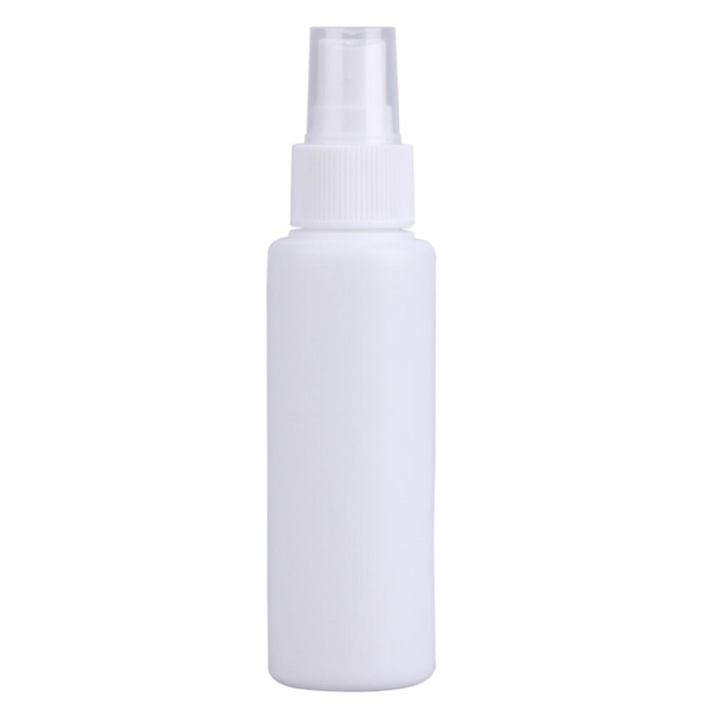 10 Pcs 100 ml De Amostra de Plástico Frascos de Spray de Perfume Branco Protable Cosméticos Atomizadores de Perfume Vazio Pulverizador Compõem Recipiente