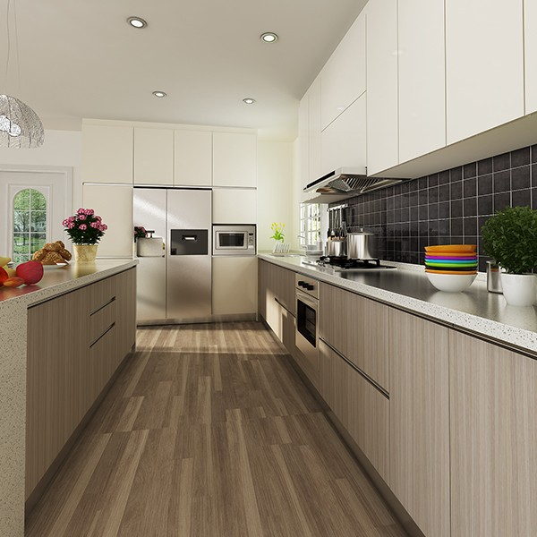 2014 african big project customized melamine kitchen cabinets design - Customized Kitchen Cabinets