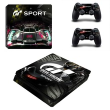 Turismo Sport GT Sport PS4 Slim Skin Sticker For Sony PlayStation 4 Console and Controllers Decal PS4 Slim Skin Sticker Vinyl