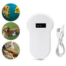 Универсальный RFID ISO FDX-B считыватель чипов животных микрочип OLED дисплей ручной сканер для собак и кошек