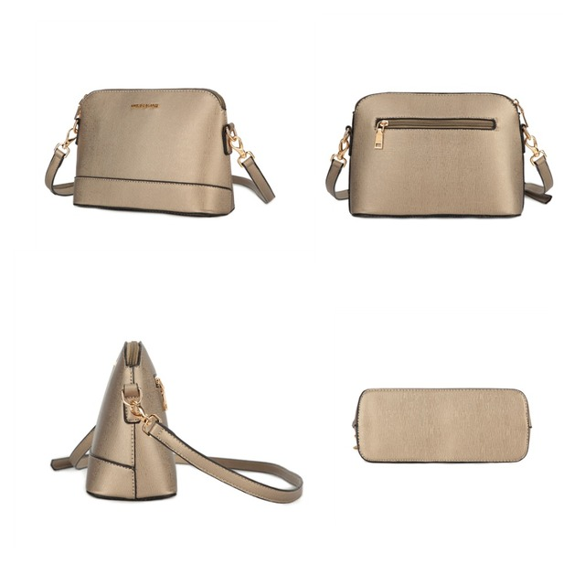 AMELIE GALANTI Small crossbody bags for womens 2018 Famous Design Small Shoulder Bag Hard Shell Solid Patchwork Spring Summer