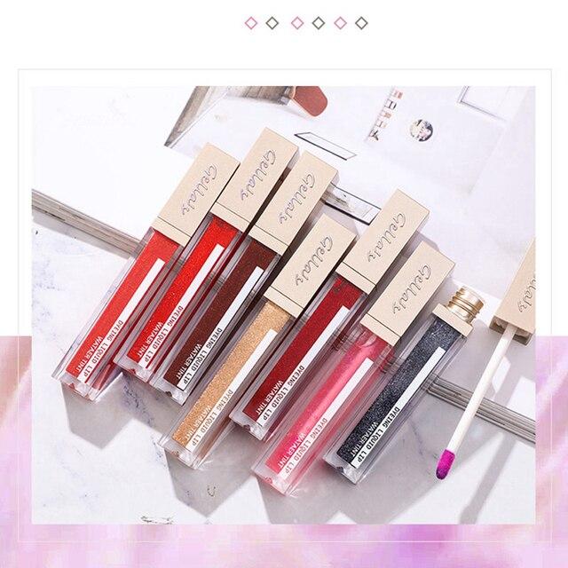 Shimmer Moisturizer Lip Gloss Temperature Change Color Liquid Lipstick Lips Plumper Oil Long Lasting Makeup Lipgloss 1