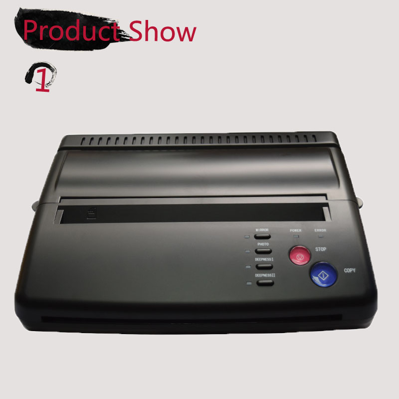 Maquiagem Tattoo copy machine lowest price A4 Transfer Paper black Tattoo copier thermal stencil copy Transfer Machine (1)