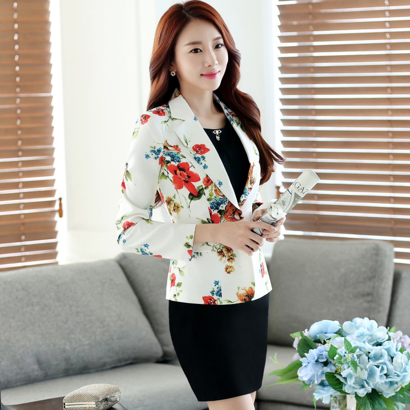 2018 summer womens blazers casacos mujer jackets female long sleeve notched jaqueta one button manteau