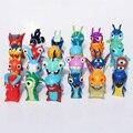 2015 Hot sale 24pcs/set Cute Cartoon Slugterra PVC Action Figures Toys Free Shipping
