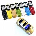 F15 newmind mp3 mp4 rádio fm sms mms câmera lanterna dupla cartões sim celular pequeno telefone celular modelo de carro mini mobile P431