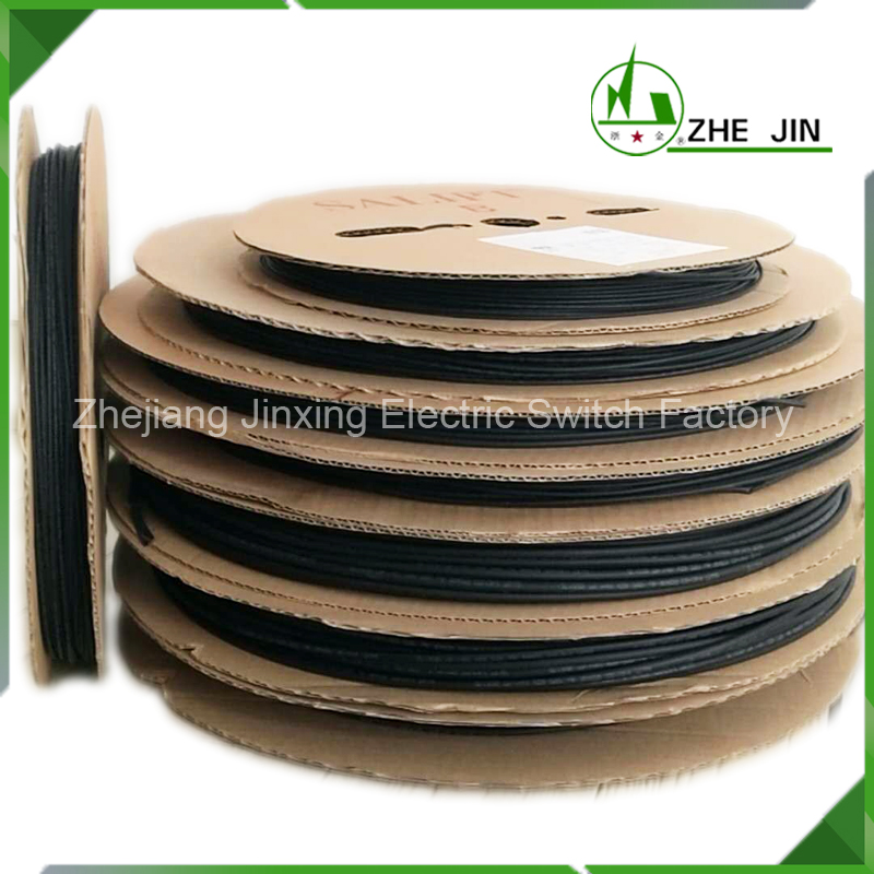 ZHEJIN 100M Heat Shrink Tubing20/22MM Ratio 2:1 Insulation Protection Flame Retardant Tube Sleeving Car Electric Cable Wire retardant heat shrink tubing shrinkable tube diameter cables 120 roll sale