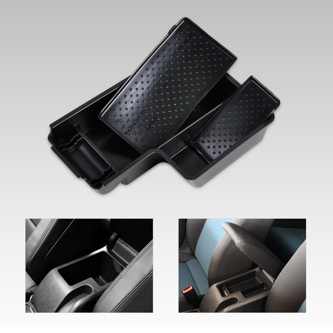 Vw leather driving gloves - New Car Styling High Quality Abs Plastics Glove Box Auto Armrest Secondary Storage Box For Vw