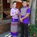 Традиционный тайский SaBai Платье Ткань Шелк, Синтетические Таиланд Национальный Костюм Новый Дай традиционная одежда Таиланд Юго-Восточной Азии