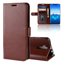 цена на JONSNOW For Oukitel C12 Pro Wallet Leather Case with Card Slots and Stand Luxury PU Leather Cover Protective Cases Capa Fundas