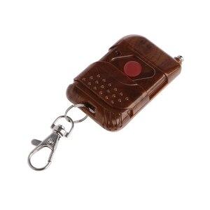 Image 2 - 0 50m 1 CH RF kablosuz RF uzaktan kumanda tek düğme anahtarı verici 315 MHz/433 MHz yeni
