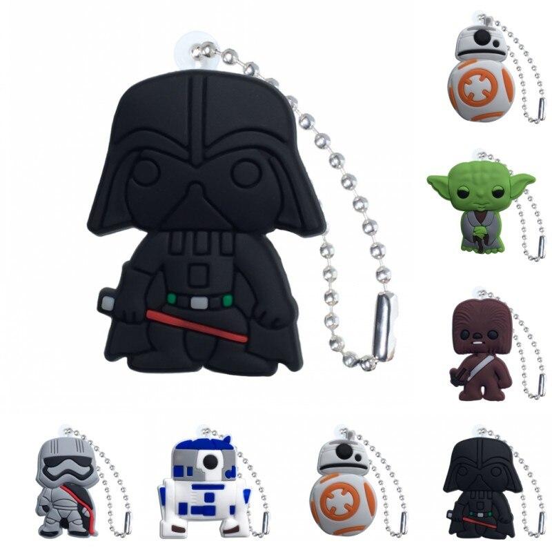 Us 015 50 Off1pcs Pvc Keychain Cartoon Figure Star Wars Key Chains Key Ring Super Hero Key Holder Kid Christmas Gift Fashion Charms Trinkets In