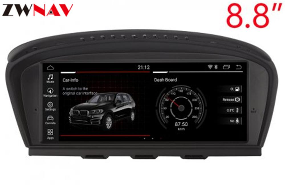 8 core 4+32GB Android 8.0 car dvd player for BMW 5 series E60 E61 E62 E63 3 series E90 E91 CCC/CIC system autoradio gps navigati image