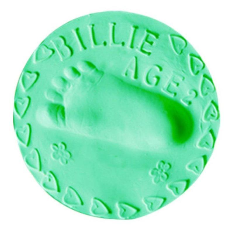 Baby Air Drogen Zachte klei Handafdruk Footprint Afdruk Gieten - Kunsten, ambachten en naaien